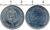 Изображение Дешевые монеты Венесуэла 1 боливар 1986