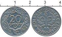 Изображение Дешевые монеты Европа Польша 20 грош 1923