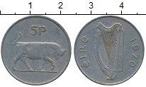 Изображение Дешевые монеты Ирландия 5 пенсов 1970