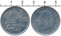 Изображение Дешевые монеты Европа Испания 25 песет 1980