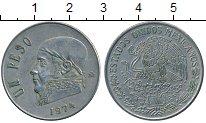 Изображение Дешевые монеты Северная Америка Мексика 1 песо 1974