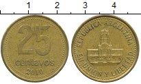 Изображение Дешевые монеты Южная Америка Аргентина 25 сентаво 2010