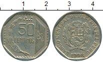 Изображение Дешевые монеты Перу 50 сентим 1998