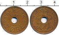 Изображение Дешевые монеты Европа Дания 2 эре 1938