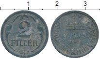 Изображение Дешевые монеты Европа Венгрия 2 филлера 1944