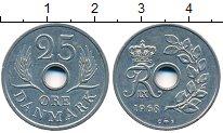 Изображение Дешевые монеты Дания 25 эре 1968