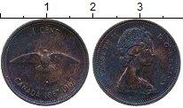 Изображение Дешевые монеты Северная Америка Канада 1 цент 1967