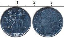 Изображение Дешевые монеты Италия 100 лир 1992