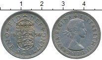 Изображение Дешевые монеты Европа Великобритания 1 шиллинг 1956