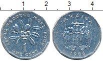 Изображение Дешевые монеты Ямайка 1 цент 1986