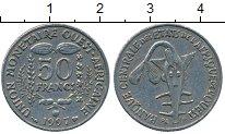 Изображение Дешевые монеты Французская Западная Африка 50 франков 1997