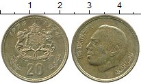Изображение Дешевые монеты Марокко 20 сантим 1974