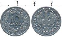 Изображение Дешевые монеты Европа Польша 10 грош 1923