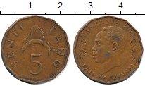 Изображение Дешевые монеты Африка Танзания 5 сенти 1975