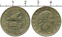 Изображение Дешевые монеты Европа Италия 200 лир 1992