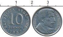 Изображение Дешевые монеты Южная Америка Аргентина 10 сентаво 1952