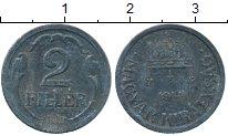 Изображение Дешевые монеты Европа Венгрия 2 филлера 1944 Цинк XF