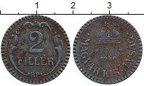 Изображение Дешевые монеты Европа Венгрия 2 филлера 1940 Железо VF+