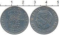 Изображение Дешевые монеты Швеция 1 крона 1969 Медно-никель VF