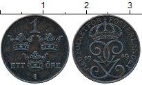 Изображение Дешевые монеты Швеция 1 эре 1949 Сталь XF-