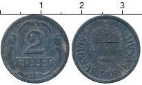 Изображение Дешевые монеты Европа Венгрия 2 филлера 1944 Цинк VF+