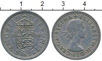 Изображение Дешевые монеты Европа Великобритания 1 шиллинг 1956 Медно-никель XF-