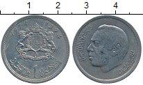 Изображение Дешевые монеты Африка Марокко 1 дирхем 1974 Медно-никель XF