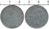 Изображение Дешевые монеты Мексика 50 сентаво 1980 Медно-никель VF