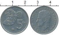 Изображение Дешевые монеты Европа Испания 5 песет 1982 Медно-никель XF-