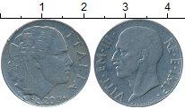 Изображение Дешевые монеты Европа Италия 20 сентесим 1941 Медно-никель XF