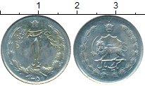 Изображение Дешевые монеты Азия Иран 1 риал 1970 Медно-никель XF