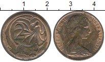 Изображение Дешевые монеты Австралия 2 цента 1981 Медь VF