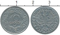 Изображение Дешевые монеты Европа Польша 10 грош 1923 Никель VF+