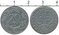 Изображение Дешевые монеты Польша 20 грош 1923 Никель VF+