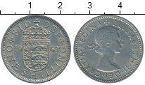 Изображение Дешевые монеты Великобритания 1 шиллинг 1963 Медно-никель XF