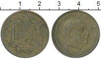 Изображение Дешевые монеты Испания 2,5 песеты 1953 Латунь VF