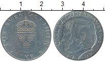 Изображение Дешевые монеты Швеция 1 крона 1987 Медно-никель XF