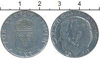 Изображение Дешевые монеты Швеция 1 крона 1979 Медно-никель XF-