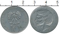 Изображение Дешевые монеты Польша 10 злотых 1975 Медно-никель VF+