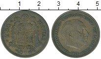 Изображение Дешевые монеты Европа Испания 2,5 песеты 1953 Медь VF