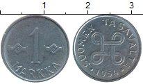 Изображение Дешевые монеты Финляндия 1 марка 1954 Железо XF