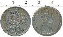 Изображение Дешевые монеты Австралия 10 центов 1976 Медно-никель VF
