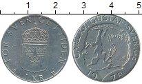 Изображение Дешевые монеты Швеция 1 крона 1978 Медно-никель XF-