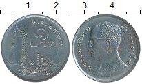 Изображение Дешевые монеты Азия Таиланд 1 бат 1977 Медно-никель XF