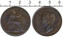 Изображение Дешевые монеты Европа Великобритания 1 пенни 1937 Медь XF-