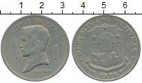 Изображение Дешевые монеты Азия Филиппины 1 писо 1974 Медно-никель XF-