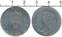 Изображение Дешевые монеты Швеция 1 крона 1980 Медно-никель XF-