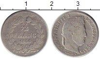 Изображение Монеты Европа Франция 1/2 франка 1836 Серебро VF+