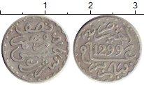 Изображение Монеты Марокко 1/2 дирхама 1882 Серебро VF