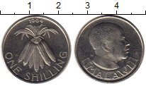 Изображение Монеты Африка Малави 1 шиллинг 1964 Медно-никель UNC